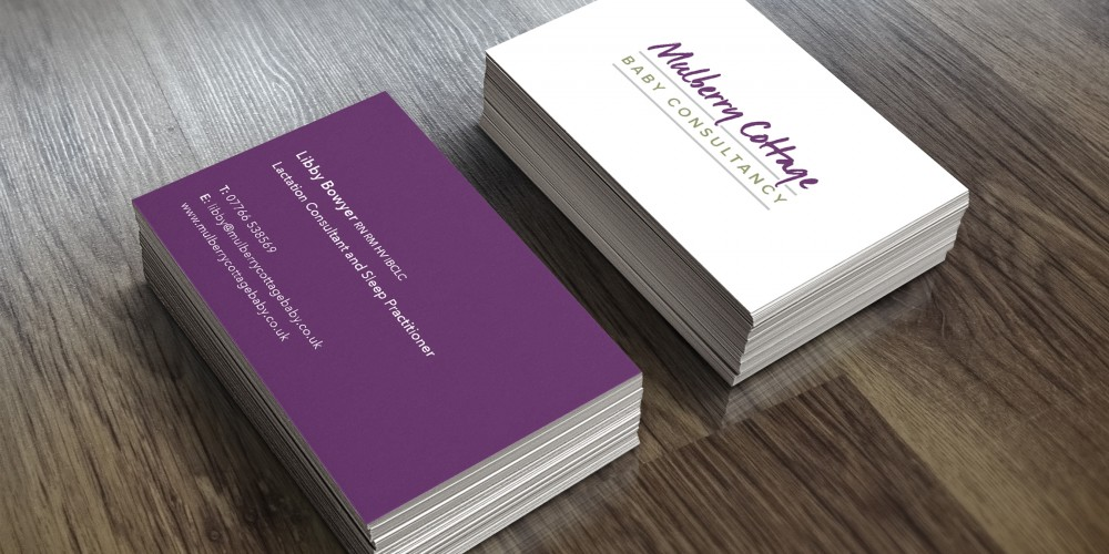 Mulberry Cottage Business Cards